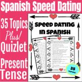 Present Tense Spanish SPEED DATING Activity