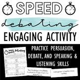 Speed Debating: Engaging Activity to Practice Debate, Ethos, Pathos, and Logos