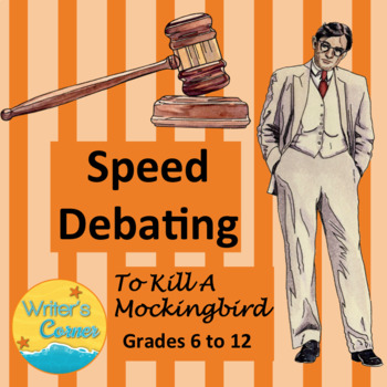 Speed Dating: To Kill A Mockingbird, 30 topic cards