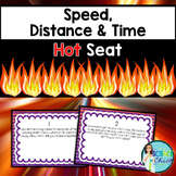 Speed, Distance & Time Hot Seat