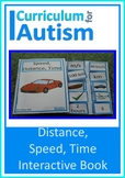 Speed Distance Time Book Autism Science STEM