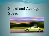 Speed, Distance, and Time Powerpoint
