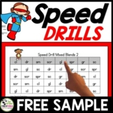 Speed Drills for Letters, Sounds, Blends, Vowels, Sight Wo