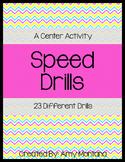 Speed Drills {Fluency Practice or Center Activity}
