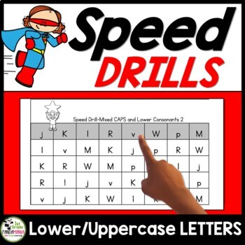 Speed Drills For Letter Identification and Sounds