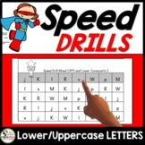 Letter Recognition Identification and Sounds Speed Drills