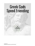 Speed Friending/ Learning: Greek Gods/Goddesses