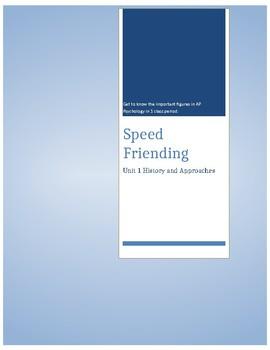 Speed Friending in Psychology