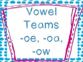 Speed Game- Vowel Teams -oa, -ow, -oe