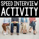 Speed Interview Class Activity