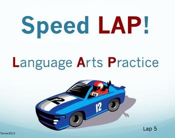 Speed LAP 5: Language Arts Practice
