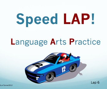 Speed LAP 6: Language Arts Practice