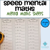 Year 2 Speed Mental Maths