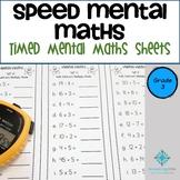 Speed Mental Maths - Grade 3