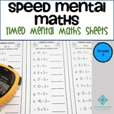 Year 3 Speed Mental Maths - Australian Curriculum