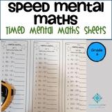Year 6 Speed Mental Maths