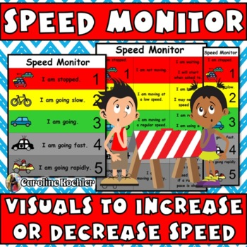 Speed Monitor:Visual Guide for Work & Activity Pacing (aut