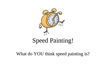 Speed Paintings (watercolor)