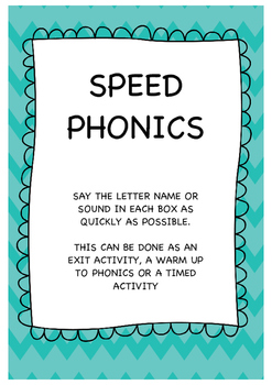 Speed Phonics