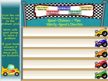 Speed Powerpoint Interactive:  Lesson, Game, Study Guide/Notes, Task cards