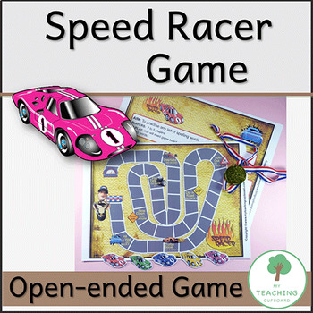 Speed Racer Game to teach spelling, number facts, any facts in fact!
