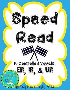 R-Controlled Vowels ER, IR, and UR Phonics Game