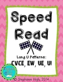 Long U Patterns CVCe, EW, UE, UI - Phonics Game