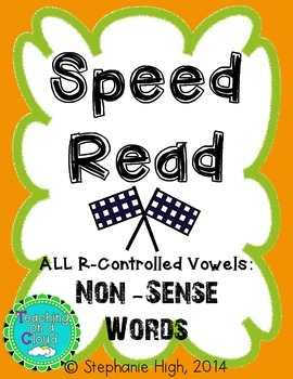 R-Controlled Vowels: Non-Sense Words AR, ER, IR, OR, UR Phonics Game
