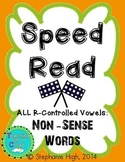 R-Controlled Vowels: Non-Sense Words AR, ER, IR, OR, UR Ph
