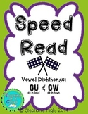 Vowel Diphthongs OU & OW Words as in (loud) and (town) Phonics Game