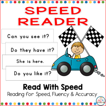 Speed Reader High Frequency Word Phrases