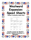 Speed Sheets: Westward Expansion to Reformers