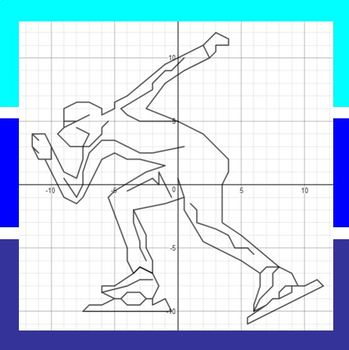Speed Skating - An Olympic Coordinate Graphing Activity