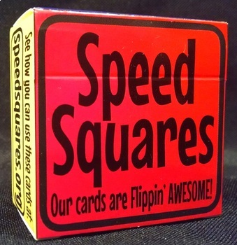 "Speed Squares ""Our Cards are Flippin' AWESOME!"""