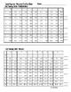 Speed Squares - Progress Tracking Sheet