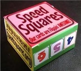 Speed Squares Small Group Teacher Set (5 Decks)