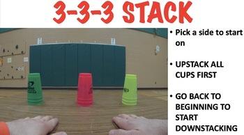 Speed Stacking - Basic Stack Patterns