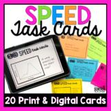 Speed Task Cards