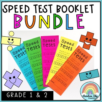 Speed Test Booklets BUNDLE - Number Facts
