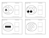 Speed Tiles (number tiles 0-9) Math Centers