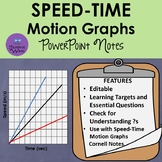 Speed-Time Motion Graph Notes- PowerPoint