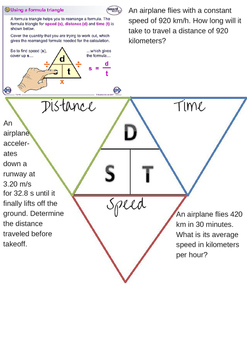 Speed Triangle Notes