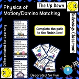 Physics of Motion-Differentiated Domino Style Matching/Com