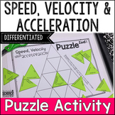 Speed, Velocity and Acceleration Review Puzzle [Activity]