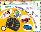 Speed, Velocity and Acceleration Unit: | Printable and Dig