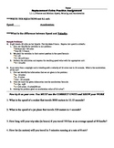 Speed, Velocity, and Acceleration WS