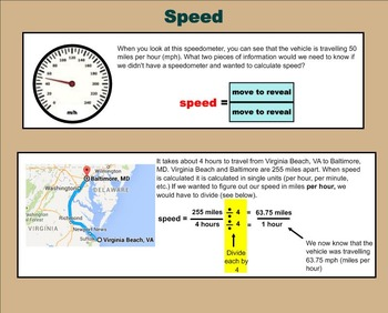 Speed and Force - A Fourth Grade SMARTBoard Introduction