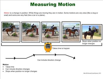 Speed and Motion - A Third Grade PowerPoint Introduction
