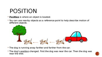 Speed and Motion PowerPoint