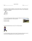 Speed and Velocity quiz